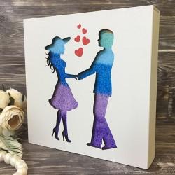 """Набор для песочной церемонии """"Couple&Hearts"""""""