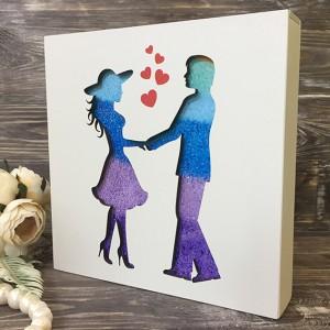 Набор для песочной церемонии Couple&Hearts
