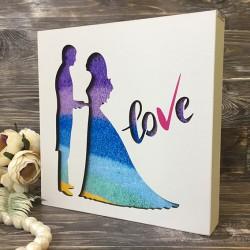 """Набор для песочной церемонии """"Love"""""""