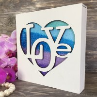 Набор для песочной церемонии Love In The Heart