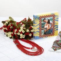 Набор для песочной церемонии на свадьбу в Дизайне №4