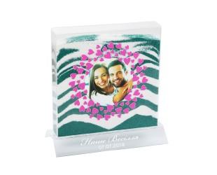 Наборы для песочной церемонии - Набор для песочной церемонии на свадьбу в Дизайне №1