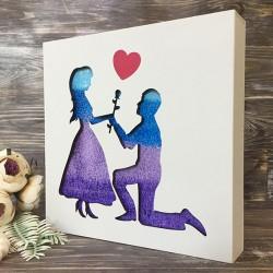 """Набор для песочной церемонии """"Rose&Heart"""""""