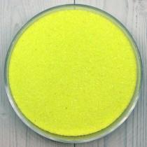 Цветной песок для свадьбы 1 кг желтый