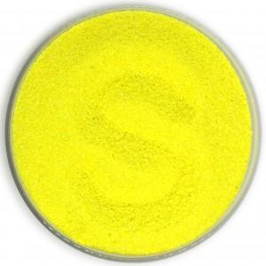 Цветной песок - Цветной песок для свадьбы 1 кг желтый