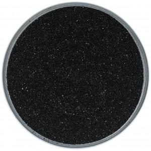 Цветной песок - Цветной песок для свадьбы 500 грамм черный
