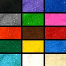 Набор цветного песка для свадьбы или творчества 15 цветов по 50 грамм